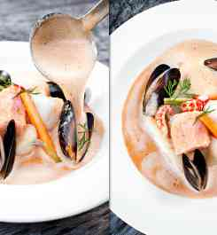 Fisksoppa, fiskgryta