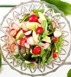Matiga grönsallader