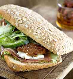 Ost-/svampsmörgåsar