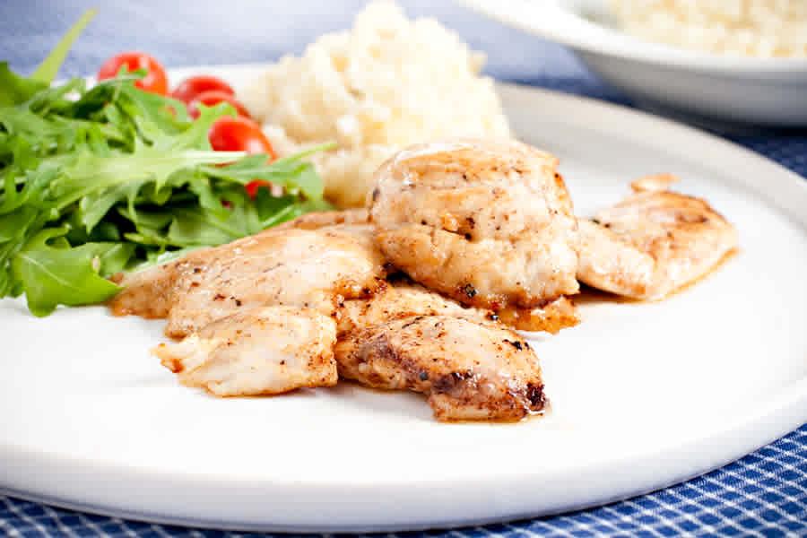 Chicken in lime med sellerimos
