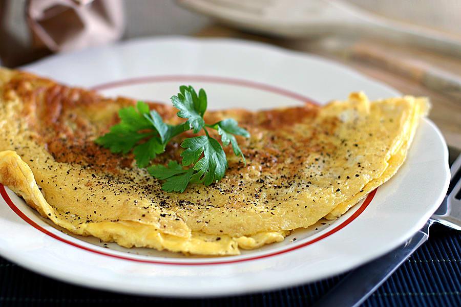 fransk omelett recept