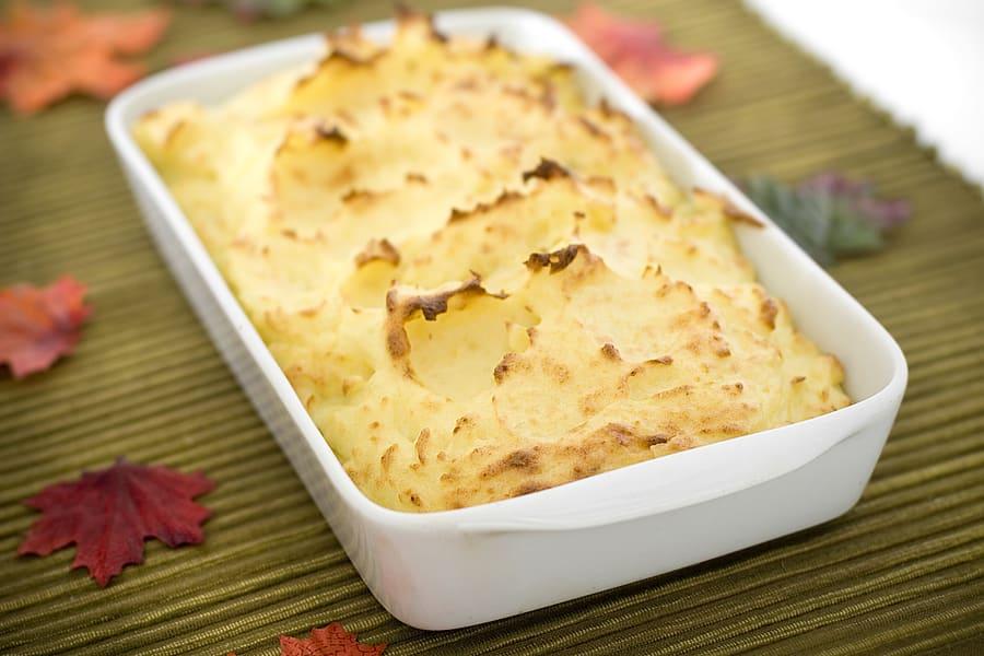 Gratinerad potatismos
