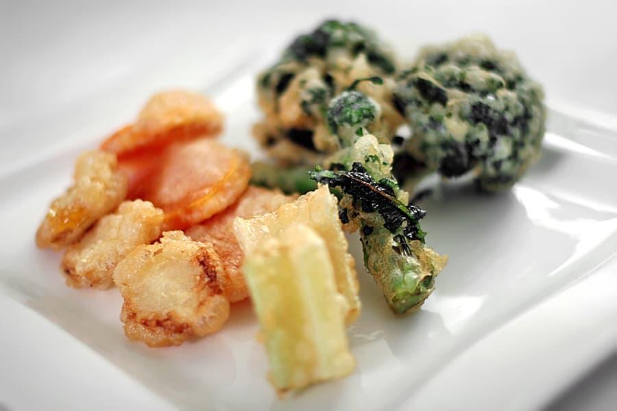 Friterade grönsaker
