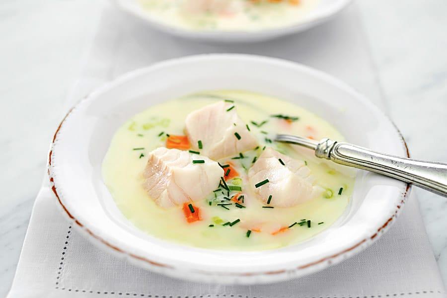 Norsk fisksoppa
