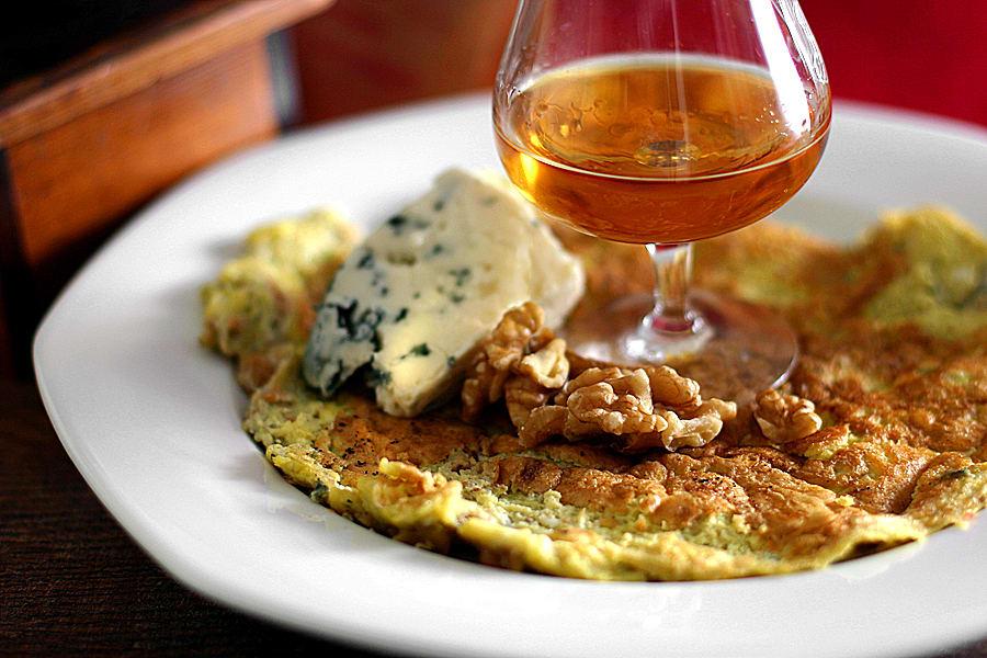 Fransk omelett med konjak - Quercinise