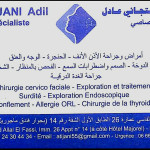 Dr Adil Tijani, Ear, nose & throat doctor (ENT) à Marrakech