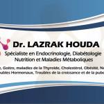 dr Dr Lazrak Houda, Diabetologist, Endocrinologist, Nutritionist à Rabat