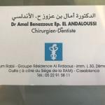 dr Dr Amal Benazzouz Ep El Andaloussi, Dentist à Casablanca