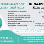 Dr Sakina Najim, Rhumatologue, Casablanca