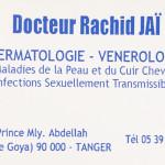 dr Dr Rachid Jai, Dermatologist à Tanger