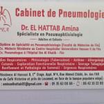 Dr Amina El Hattab, Allergist, Pulmonologist, Fés