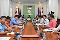 Phnom Penh Governor HE Khong Sreng...