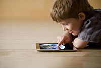 Kids like to watch iPads can help...
