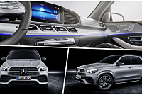 The new GLE 580, powered by a 483...