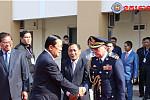 Cambodia's Prime Minister Samdech...