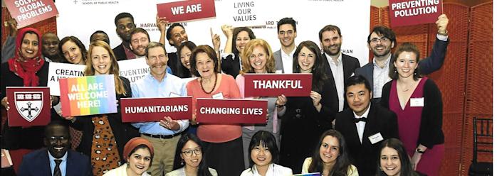 Ετήσιος εορτασμός υποτρόφων της Σχολής Δημόσιας Υγείας του Πανεπιστημίου Χάρβαρντ