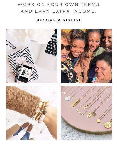 Online stylist jobs