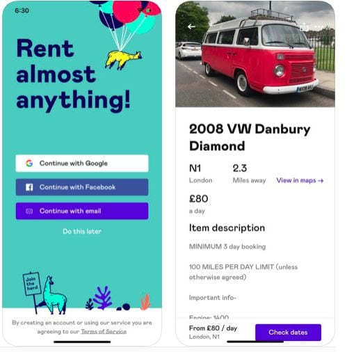 Rent Out Your Stuff With Fat Llama In Manchester Appjobs