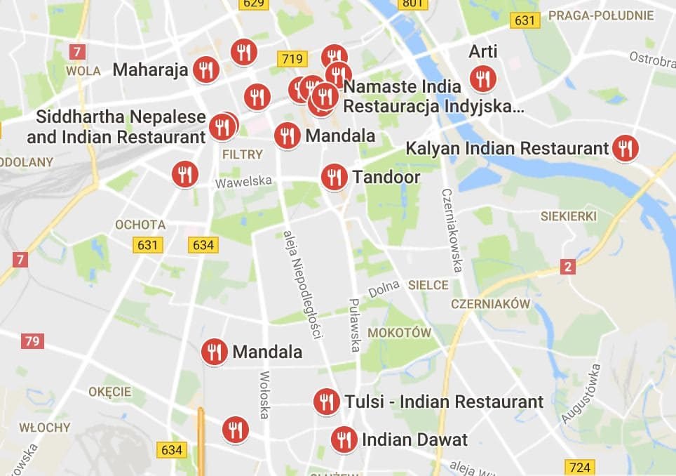 UberEATS Jobs In Warsaw Poland AppJobs - Where is warsaw