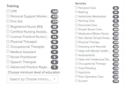Private caregiver jobs in Houston, TX | ElderCare - AppJobs