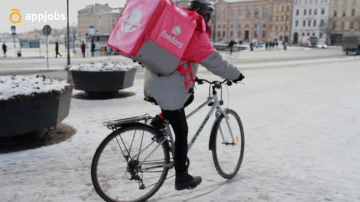 Foodora rider jobs