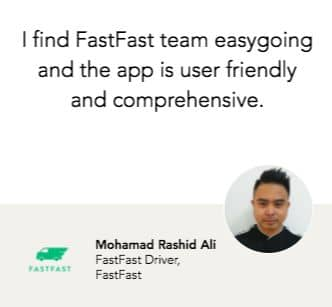 Delivery driver jobs in Singapore - FastFast - AppJobs