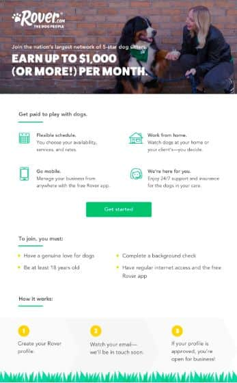 Dog walking & sitting jobs in Vancouver, BC - Rover - AppJobs