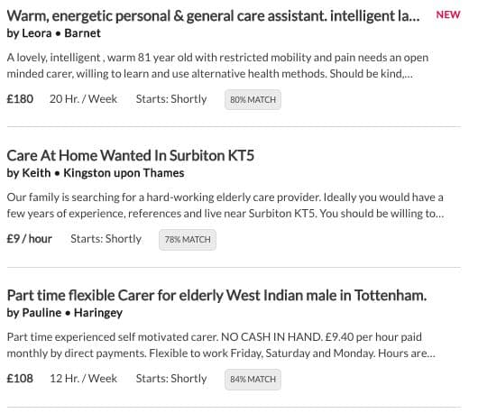 Care senior care jobs in London - AppJobs