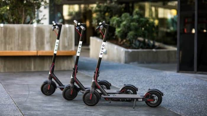 collecting scooters
