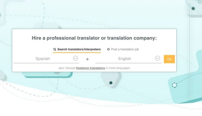 online translation services for freelancers