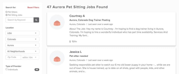 Become a pet sitter in Aurora, IL with PetSitter com - AppJobs