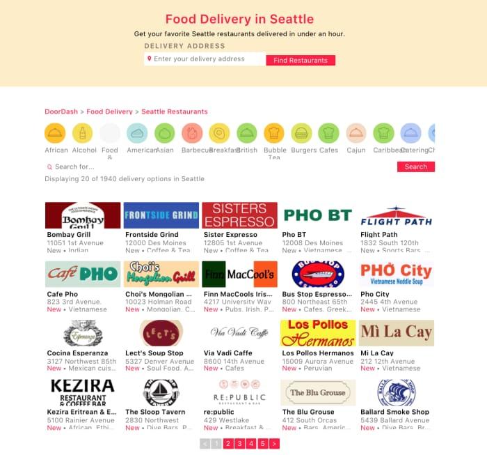 DoorDash food delivery jobs in Seattle, WA - AppJobs