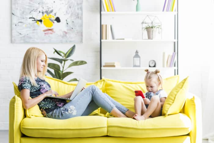 work at home job for moms