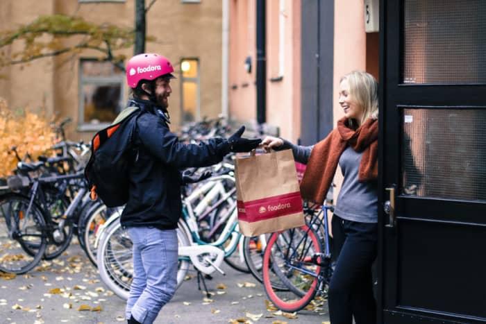foodora rider stockholm