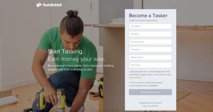TaskRabbit jobs - become a tasker in Birmingham