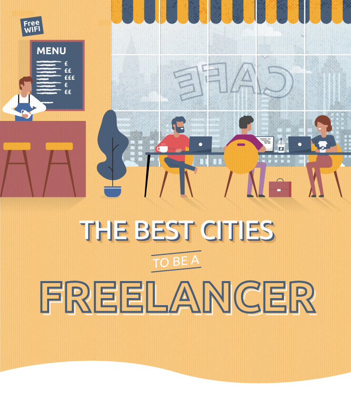 the best cities to be a freelancer