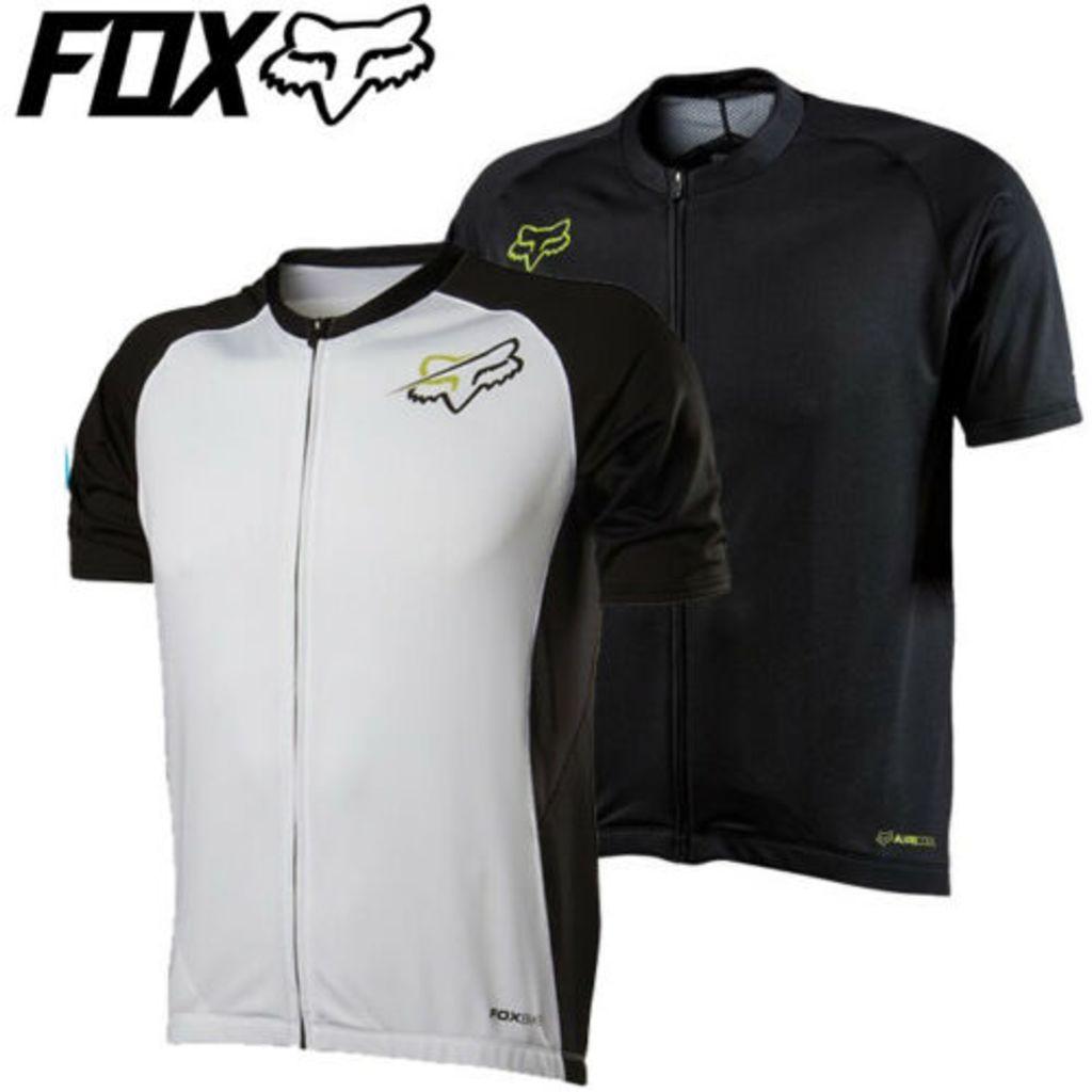 Fox Aircool Zip Shortsleeve Jersey 2014