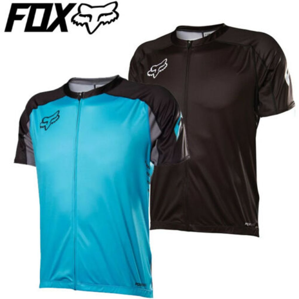 Fox Attack Zip Shortsleeve Jersey 2014