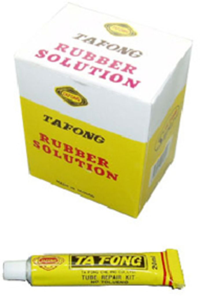 Patch Kit Glue Rubber Solution per tube