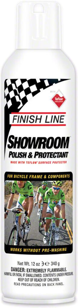 Cleaning Finish Line Showroom Polish and Protectant