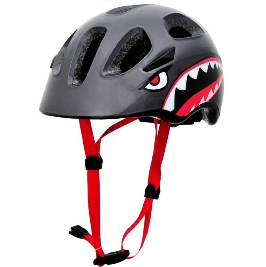 Azur J35 Kids Helmet -White/Purple