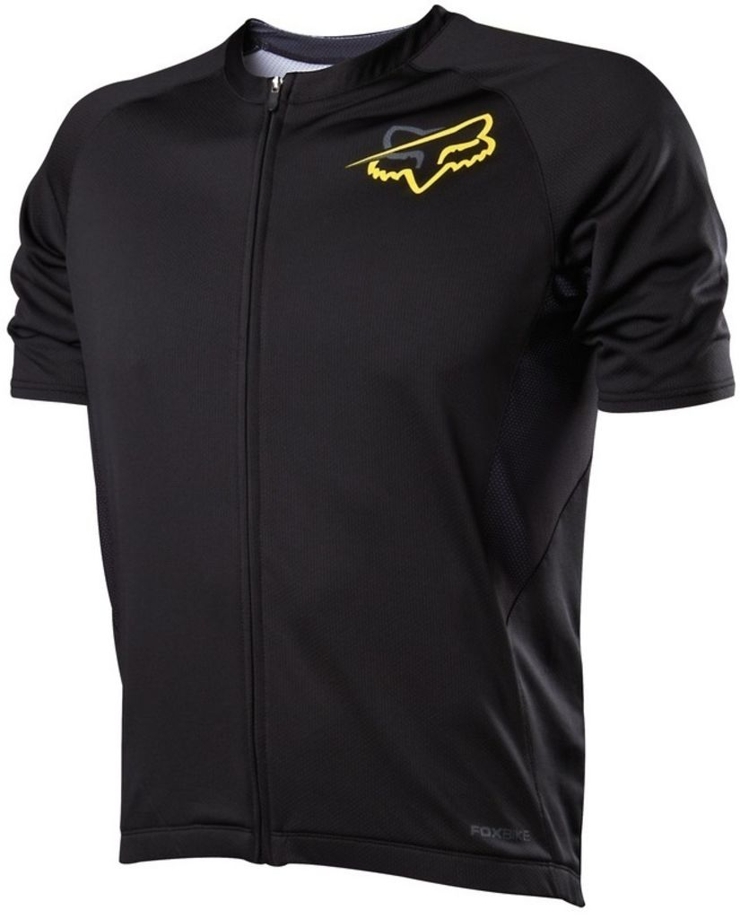 Fox Aircool Zip Short Sleeve Jersey 2014