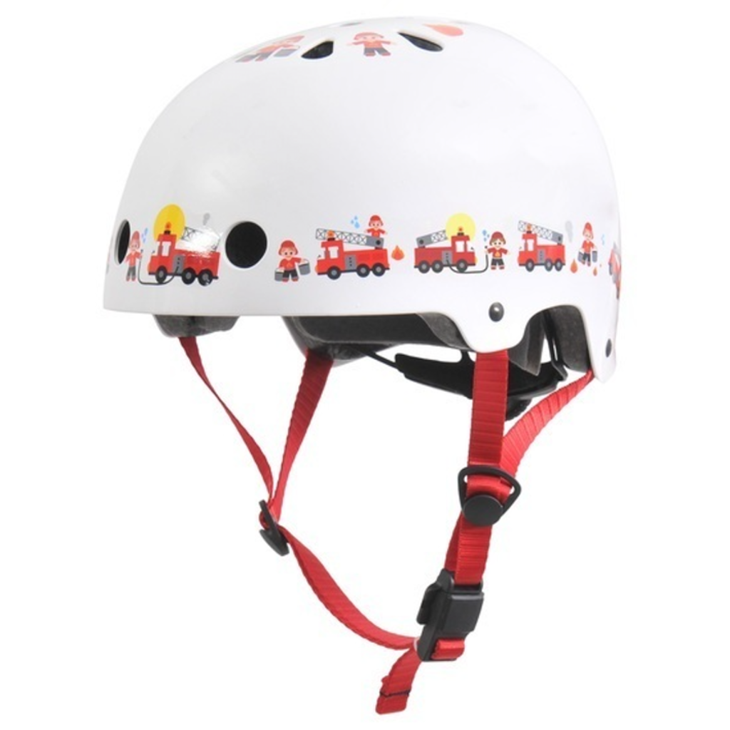 Azur Xtrovert Helmet -White Fireman - Small 50/54cm