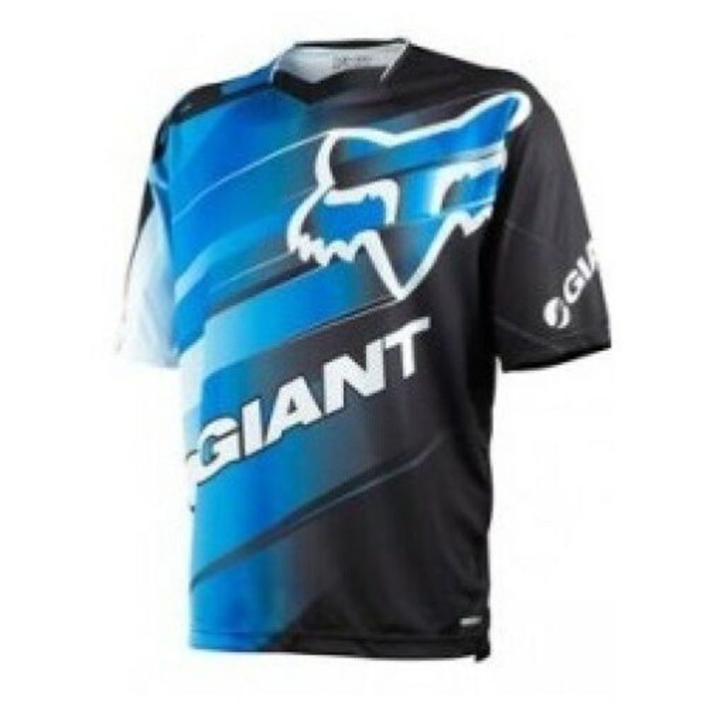 Fox Giant Demo Jersey [Colour: Blue/White] [Size: L