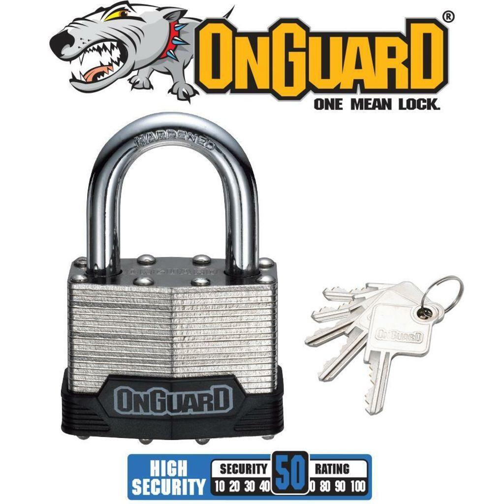 Lock Shackle OnGuard Padlock 10mm
