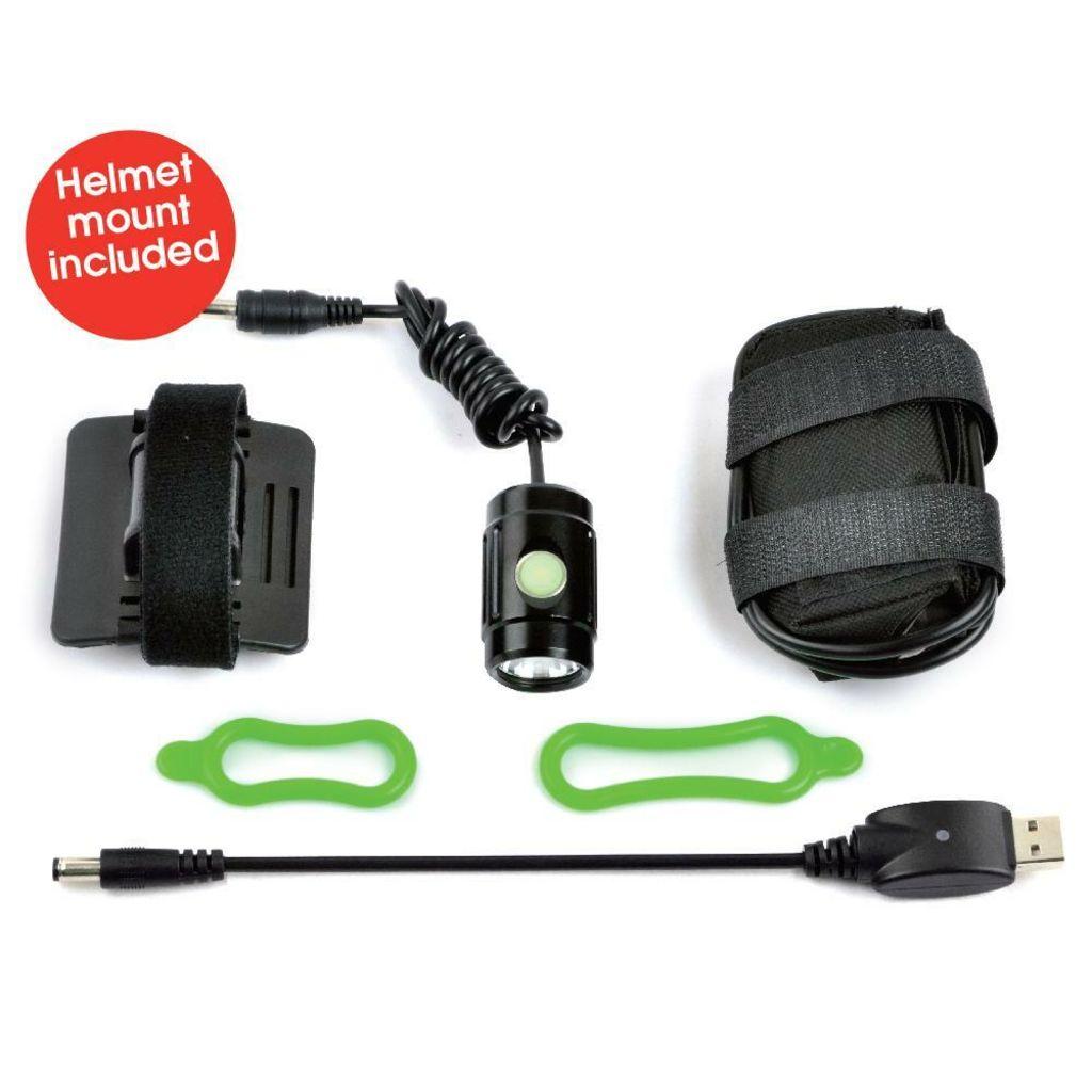 Azur Thumb II 1000 Lumen USB Rechargable Headlight