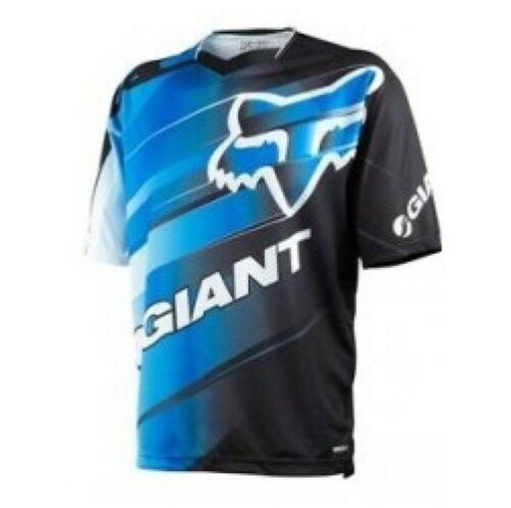 Fox Giant Demo Jersey [Colour: Blue/White] [Size: S