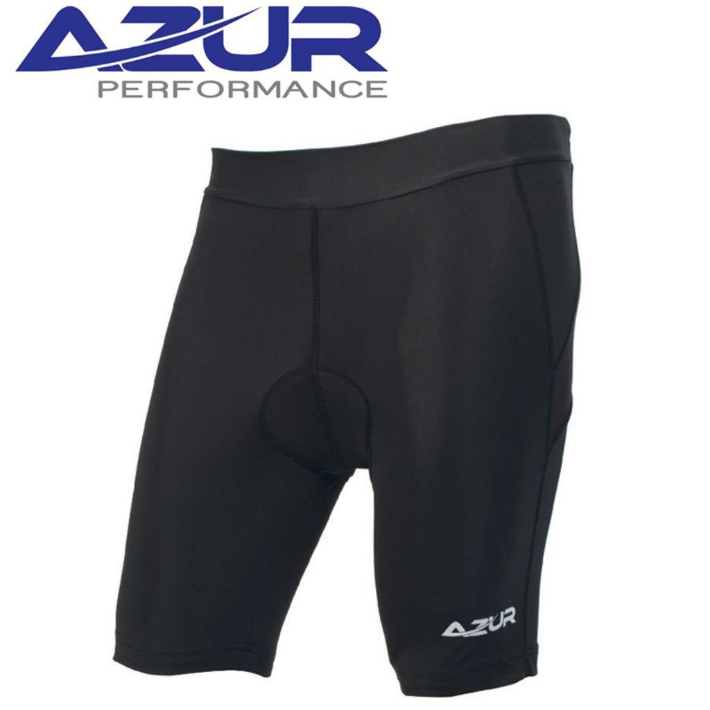 Azur Womens Cycling Knicks Black - Small