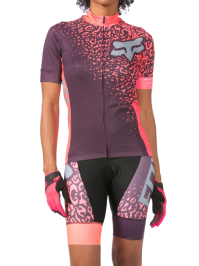 Fox Switchback Comp Bib Shorts 2016 [Colour: Purple