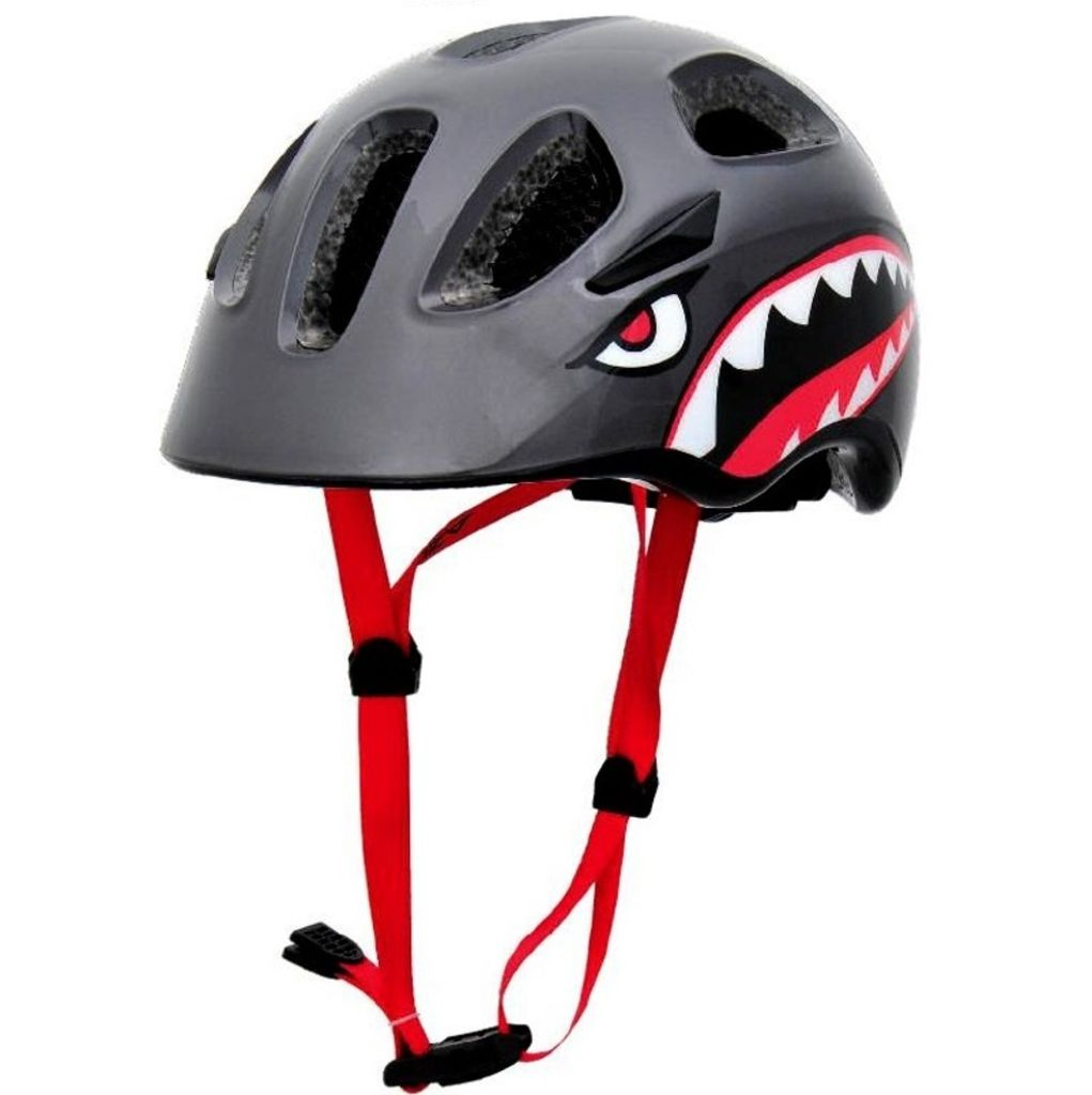 Azur J35 Kids Helmet -Black/Green